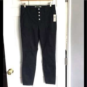 Anthropologie button fly utility pant size 28